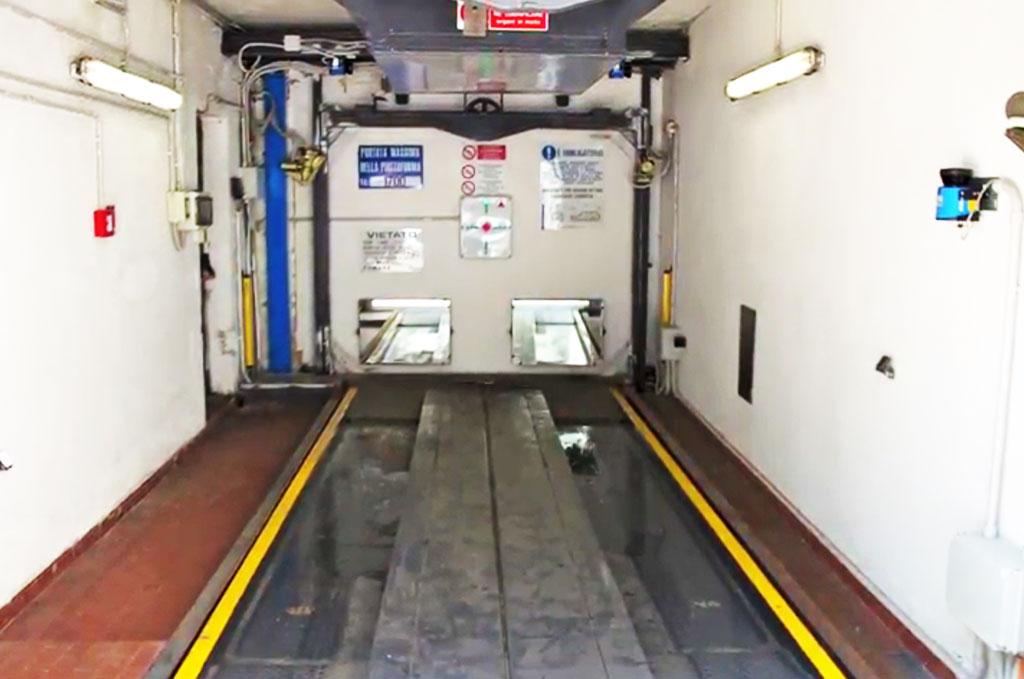 Parking automatique Milan - Noria