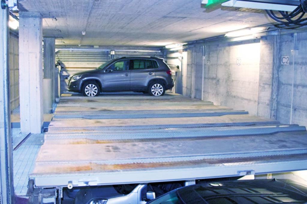 Automatic parking CTR3 Park
