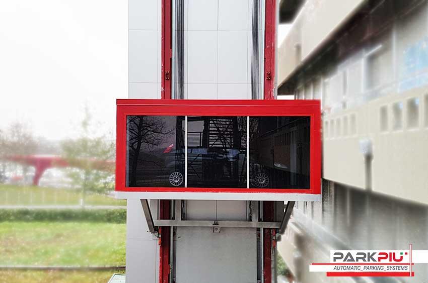 La solución Parkpiù para el transporte de coches al Museo Alfa Romeo
